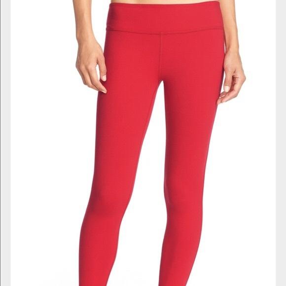 f037189acd1630 Beyond Yoga Pants - Beyond Yoga Crimson Red Leggings